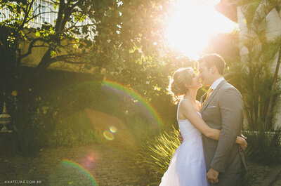 Casamento Nathalia & Thiago: clima colonial, ambiente alegre e super aconchegante