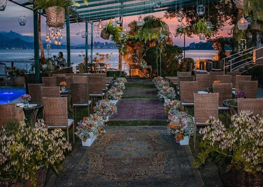 Os espaços que são uma verdadeira inspiração para todos os noivos!