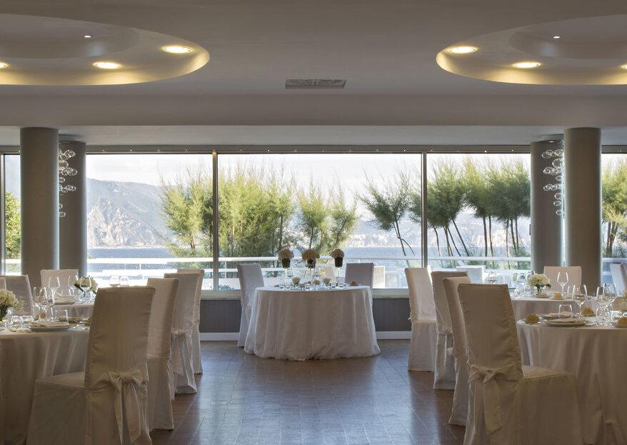 Your wedding deserves the elegance & beauty of Villa Balke in the Neapolitan city, Torre del Greco