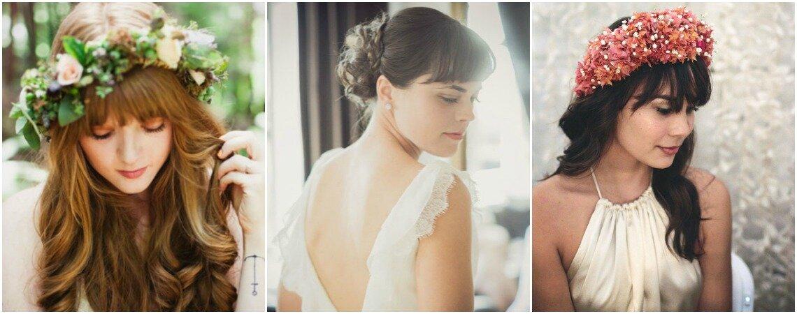Brautfrisuren mit Pony: Entdecken Sie die neuen Styling-Ideen für einen romantischen Brautlook