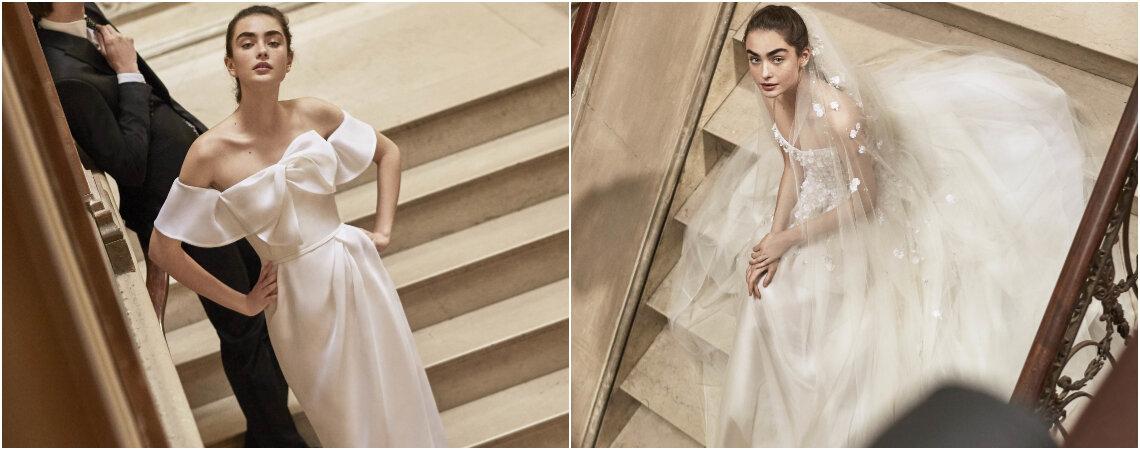 Neue Brautkleider von Carolina Herrera für 2019: Pure Eleganz!