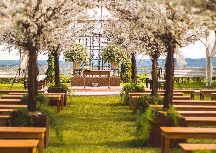 Sítio Santa Rita de Cássia: um lugar mágico, perfeito para quem deseja realizar uma linda celebração em meio à natureza!
