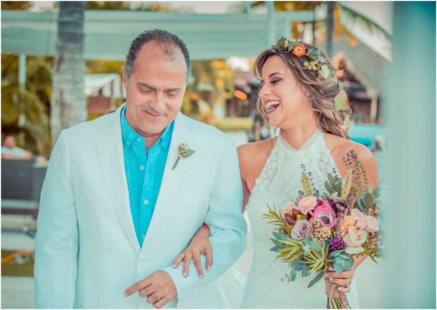 5 maneras de decirle a tu papá el día de tu boda, cuánto lo quieres