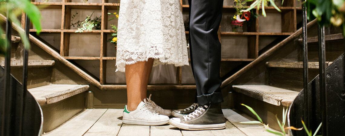 Кроссовки для невесты: лучшие марки для нестандартного образа!