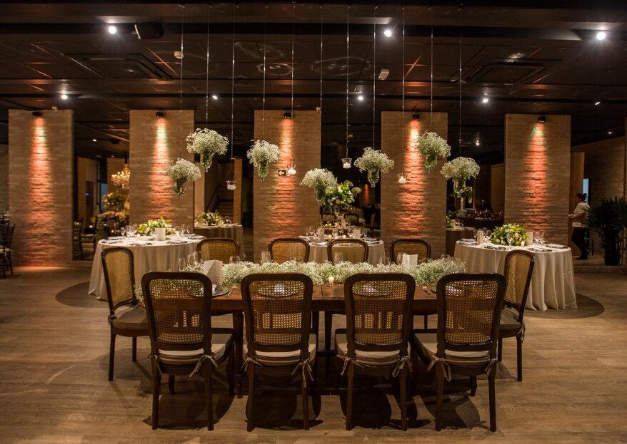 Espaço Wood: o palco ideal para os noivos mais modernos que reflete contemporaneidade em cada canto!
