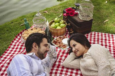 El picnic perfecto: Enamórate de esta sesión pre boda en la Ex Hacienda de Chautla, Puebla