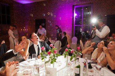 Ideen für Hochzeitsspiele bei der Hochzeitsfeier