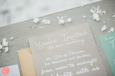 Tekst voor je trouwkaart opstellen? Zo doe je dat!