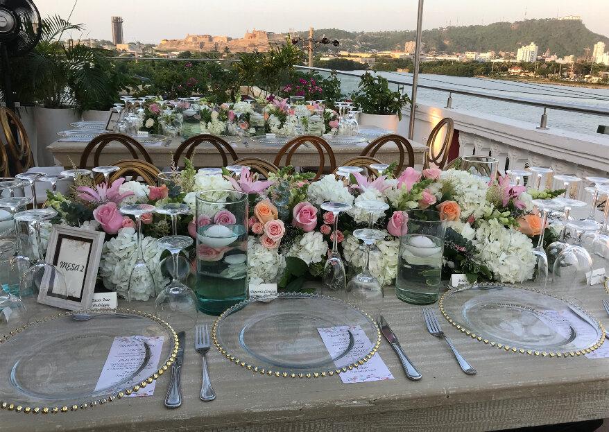 Tres flores para tu boda en Cartagena, según Floristería El Edén