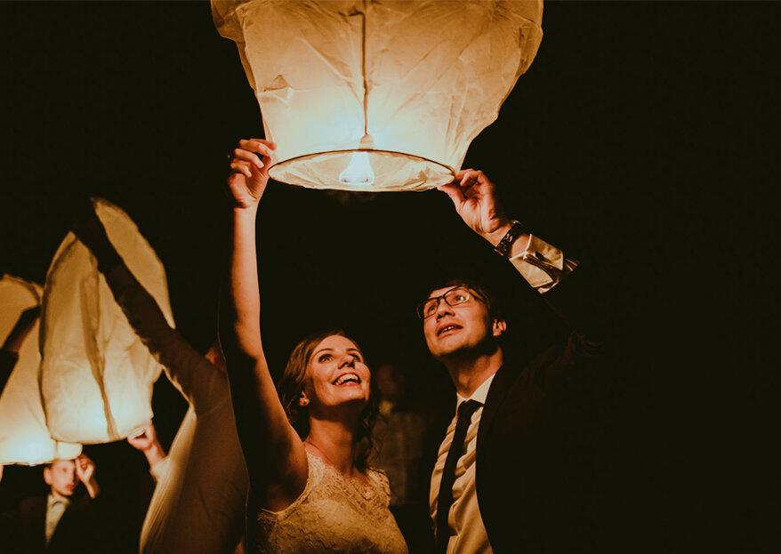 Lanternas chinesas no seu casamento: deixe os seus sonhos voar!