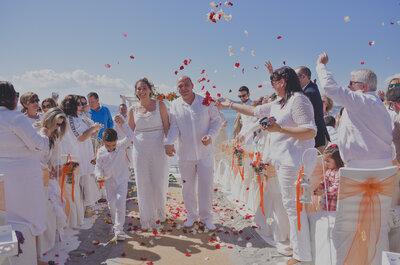 Inolvidable, única y ¡fuera de lo común!: la boda de Antonio y Carolina