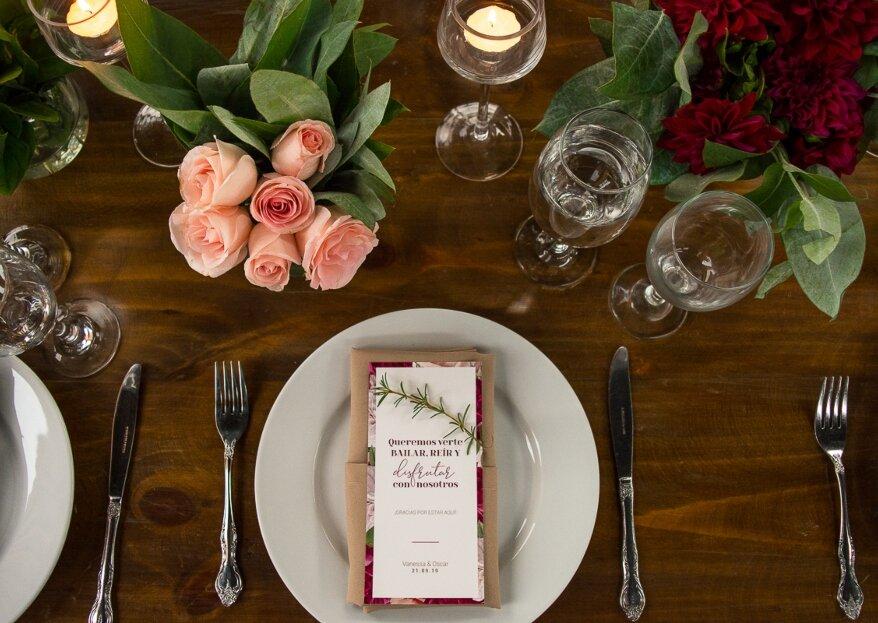 Ambrosía Catering: banquetes que transmiten la esencia de los novios en cada detalle