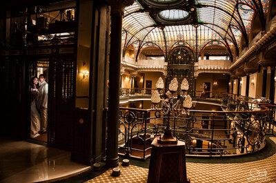 La boda de Elda y Pepe en el Gran Hotel de la Ciudad de México