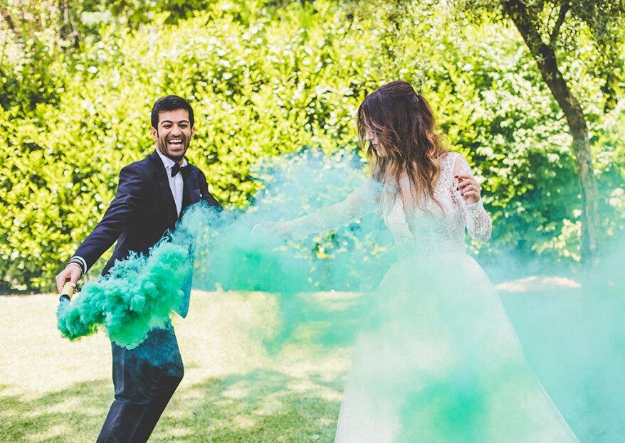Evoque toda a emoção do seu casamento através de fotografias!