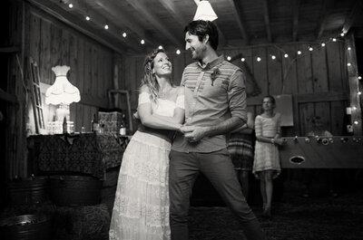 Real Wedding: En esta boda el bosque se convirtió en un escenario perfecto... ¡Todo un must!