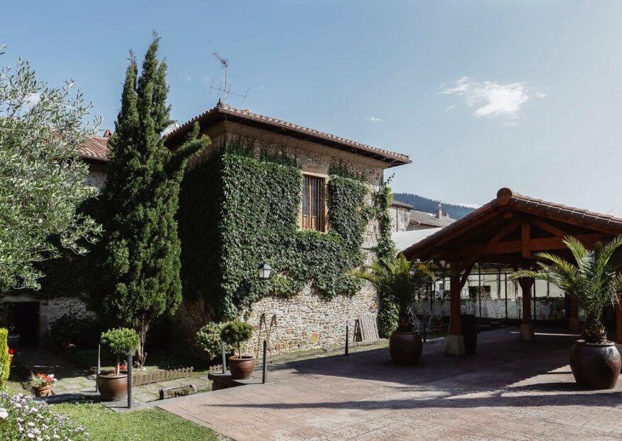 Hotel Convento San Roque: un espacio privilegiado para celebrar bodas en Vizcaya