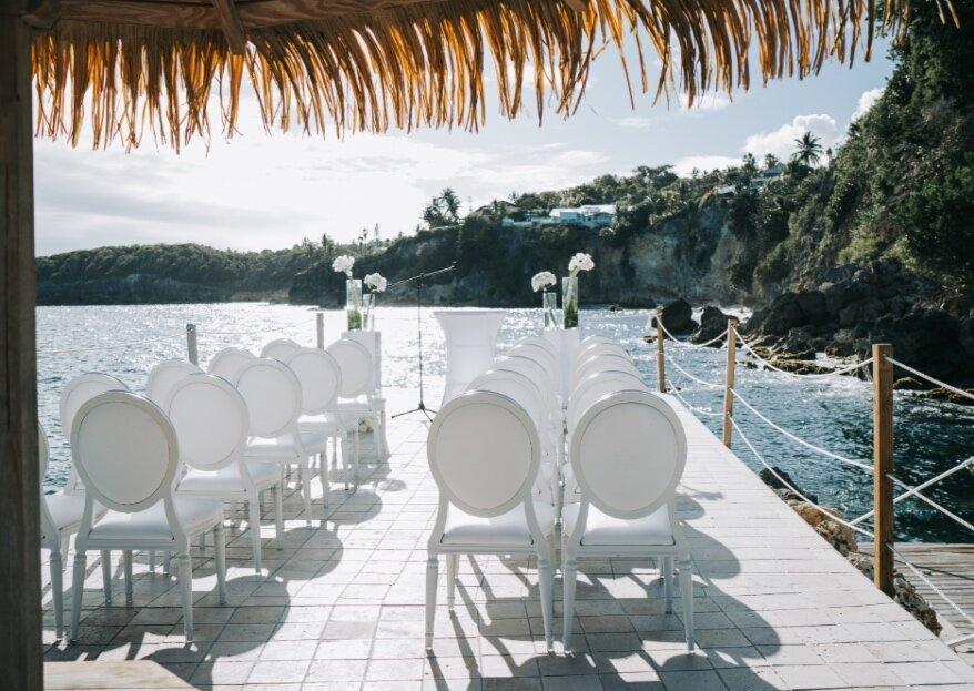Mariage de rêve dans les Caraïbes avec Nikita, de l'agence You&WE