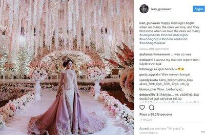Os vestidos de noiva com mais gostos no Instagram