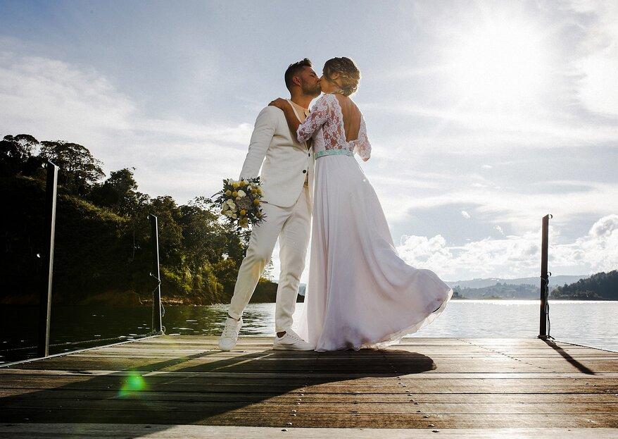 Esteban Jiménez Fotografía: las fotos de boda que construyen historias de amor