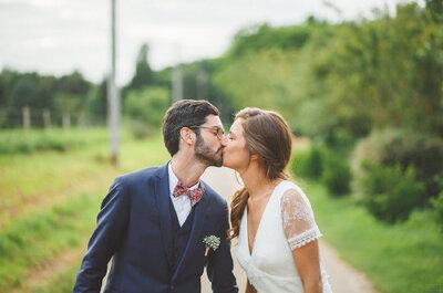 Clémence et Florian : un mariage bohème dans un joli château du Loiret