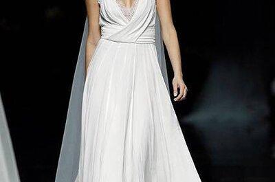 Vestido de noiva decotado: a minha escolha de hoje