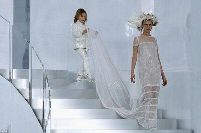 Los caprichos de los diseñadores en los vestidos de novia