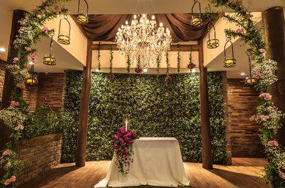 Combinação perfeita para noivos práticos: cerimônia e festa no mesmo local