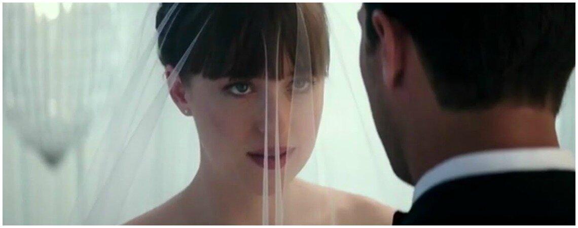 Confira o trailer de '50 tons de liberdade'... com as primeiras imagens do casamento de Christian e Anastasia!