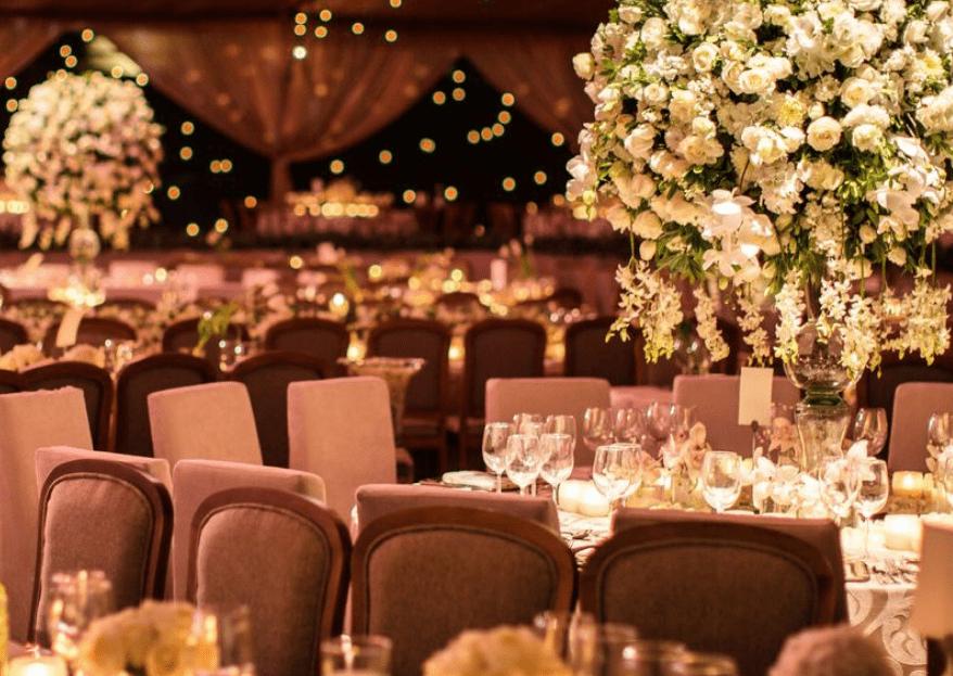 El éxito de tu boda está en los detalles, ¡te damos las claves!