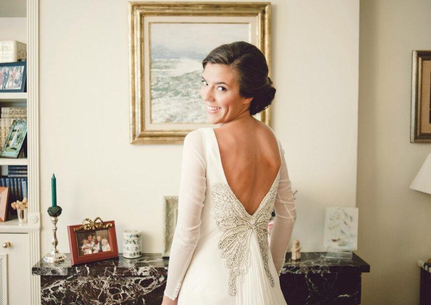 Rückenfreies Brautkleid? Diese Experten-Tipps sorgen für makellose Haut am Rücken