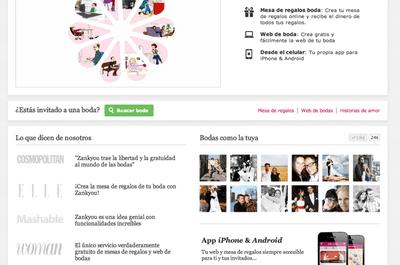 Organiza tu boda de forma divertida con tu página web de bodas Zankyou