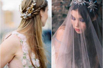 ТОП10: Свадебные аксессуары в Москве: украшения для невест
