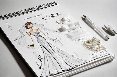 Laurent Kapelski, couturier de l'élégance et créateur d'émotion pour votre mariage