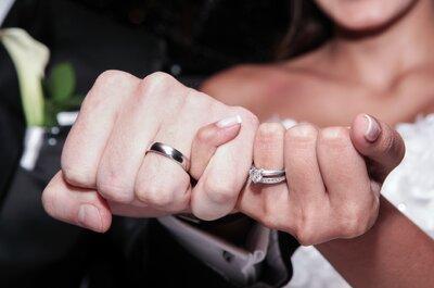 13 increíbles opciones de anillos de boda: ¡El amor es para siempre!