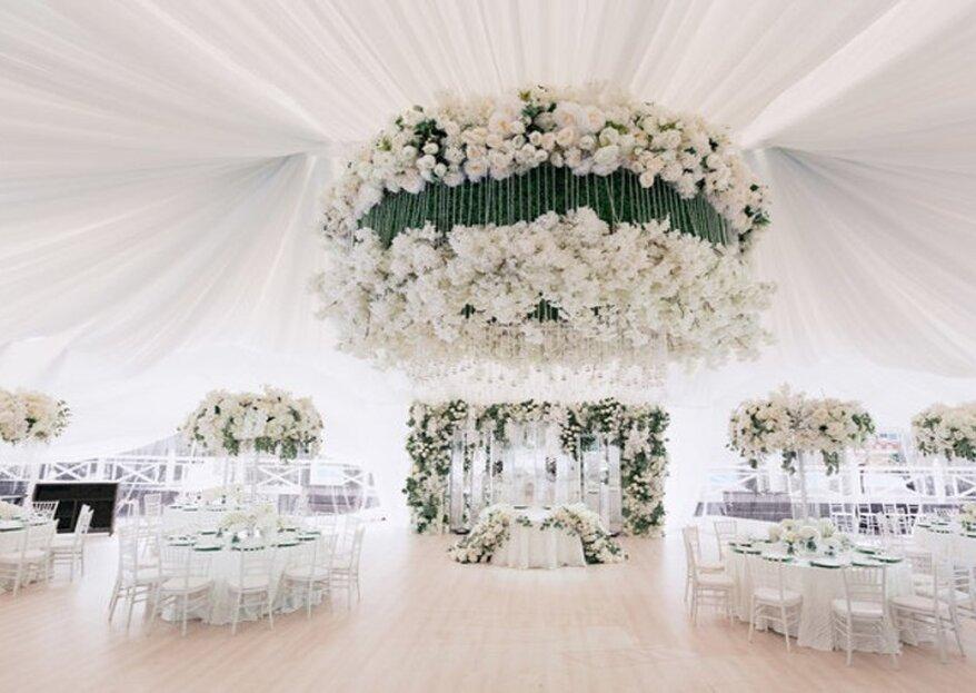 Выбираем столы на свадьбу: 5 типов столов для вашего торжества!