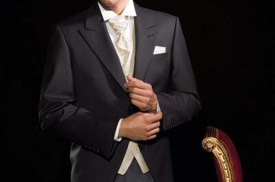 À la recherche d'une tenue de marié à louer ? Misez sur Les Deux Oursons !