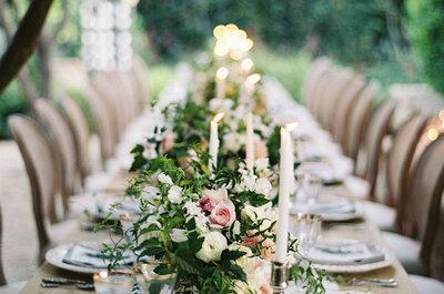 Trendige Ideen, wie Sie die Hochzeitstische 2016 dekorieren können!