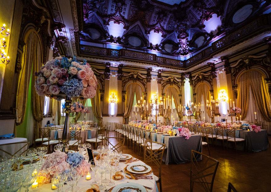 Palazzo Brancaccio: maestosità, eleganza e lusso al servizio del tuo matrimonio