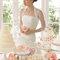 Hochzeits-Kleid: Brautkleid mit dreiviertel Ärmeln mit Spitze