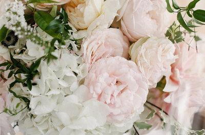 Apuesta por el romanticismo en la decoración: llena tu boda de rosa pastel