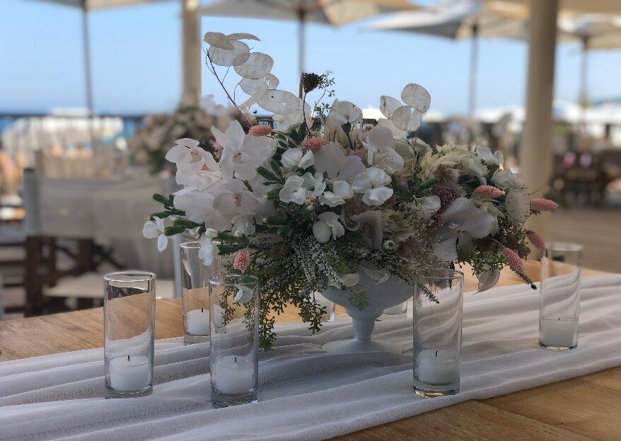 ACCAELLE EVENTS costruisce attraverso la cura di ogni dettaglio l'unicità delle vostre nozze!