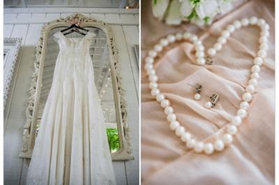 Dall'Inghilterra, un real wedding 100% shabby-chic tutto da copiare