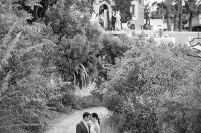 Una increíble destination wedding en el corazón de Cataluña: la boda de Lauren y Michal