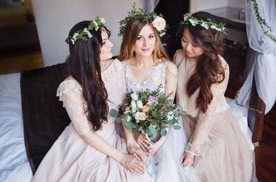 3 совета об уходе за волосами невесте и её подругам!