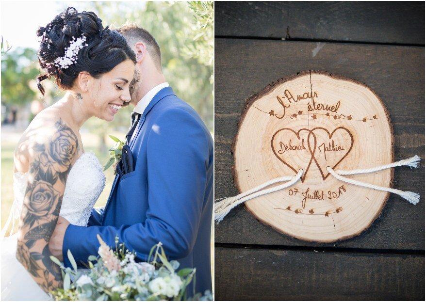Déborah et Matthieu : un mariage chic et décontracté placé sous le signe de la bonne humeur