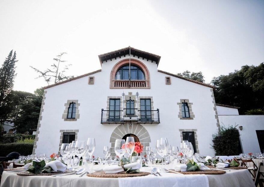 Cinco razones para casarse y hacer el banquete en el mismo lugar