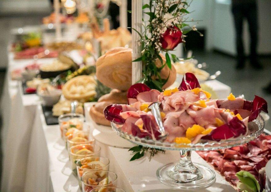 Cinque Sensi Eventi, un servizio di Catering&Banqueting attento all'eleganza, al gusto e all'ambiente!
