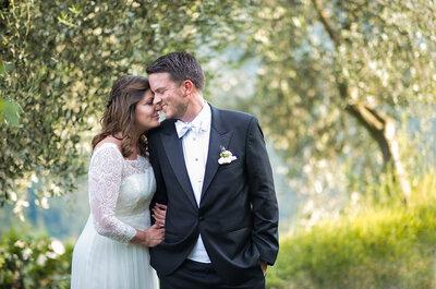 Hochzeit am Schweizer Nationalfeiertag – Bettina & Patrick feierten im Tessin!