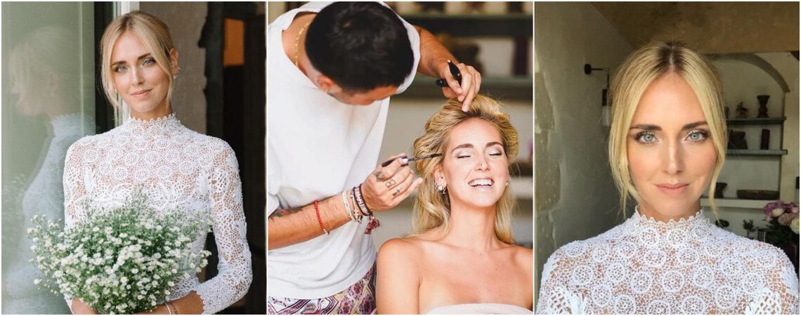 Das bezaubernde Hochzeits-Make-Up von Chiara Ferragni zum Nachschminken