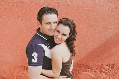 Esta sesión de fotos pre boda al aire libre te dejará con unas ganas inmensas de casarte